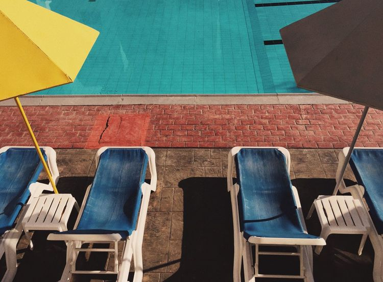 Life is a beach n. 6 Chair Empty Absence Seat Side By Side Group Of Objects Order Vibrant Color EyeEm Best Shots Life Is A Beach Vacations Tourism Decay Colorful Summer Wesanderson Simmetry