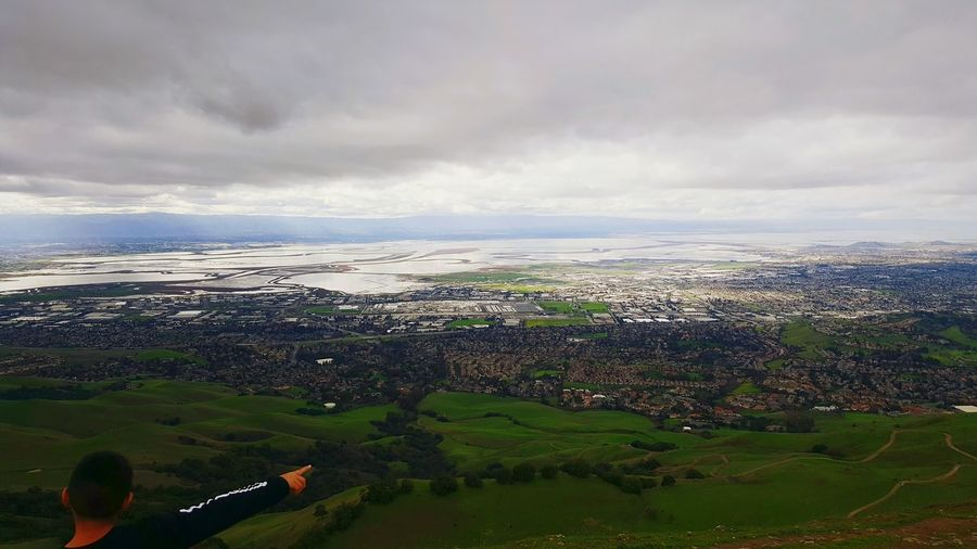 Look out on Mission Peak Scouting Climbing Taking Photos Enjoying Life Mountains Clouds Outdoors Before The Rain