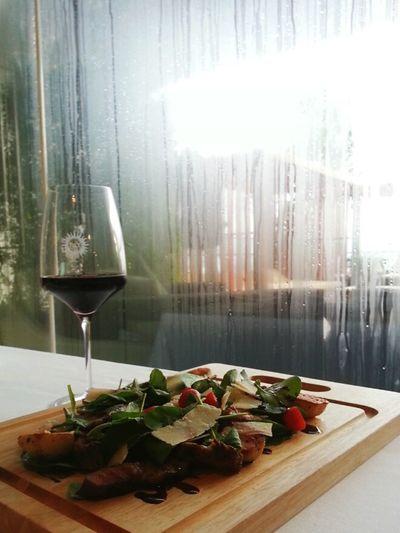 Dinner In The Rain @ Luce Eastin Grand Sayorn