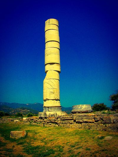 Ancient Temple of Goddess Ira. Archeological Site Ancient Ruins Greek Islands No People Archeological Site Seeing The Sights Pillar Ruins Ancient Ancient Civilization Ancient Building Ancient Temple Showcase: January Archeology History Through The Lens  Historical Monuments History Historical Place Samos Island Summer Memories 🌄