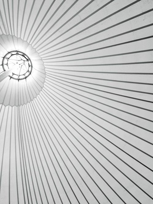 Low Angle View Pattern Indoors  No People Hanging Backgrounds Day Macro Close-up Abstract Family Blackandwhite White Daylight Hamburg Germany