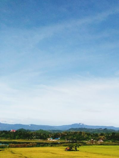 Outdoor Green And Blue Beauty In Nature Indonesian Sky Nature Outdoors No People