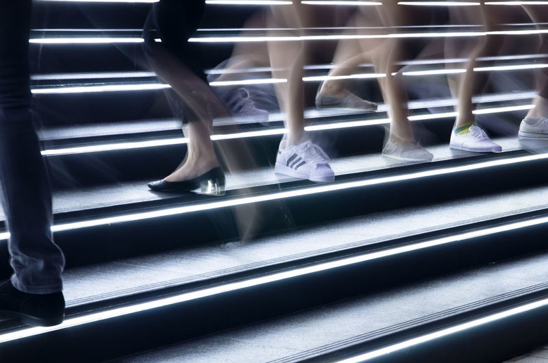 Night Lights Human Leg Illustration Lifestyles Motion Bur Steps Steps And Staircases Urbanphotography EyeEmNewHere