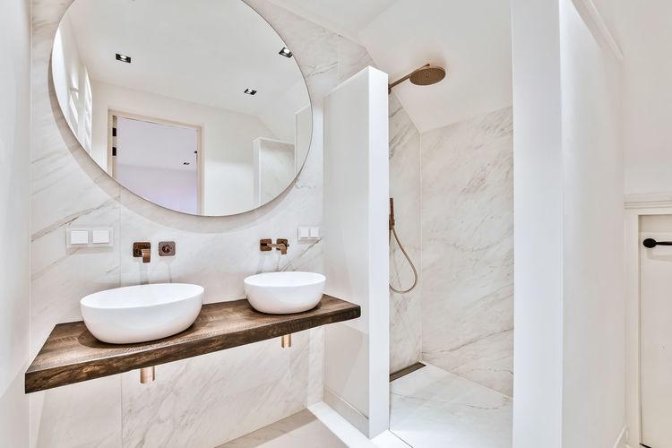 Interior of bathroom at home