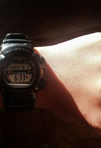 Good Morning What Time Is It? Am Morning Shine G-Shock ⌚ Watch Watch The Clock Wristwatch Wrist Samsung Samsunggalaxygrandprime Samsungphotography Photography PhonePhotography Photoshop Express App. Photoshop Express