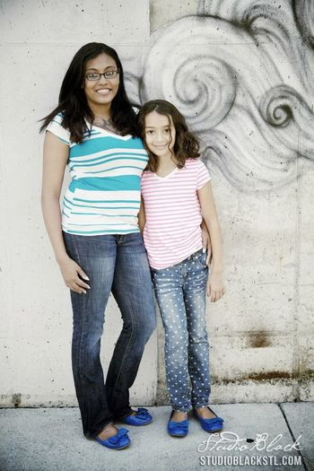 So much in love with this picture of Samara and I. Via studioblackstl.com