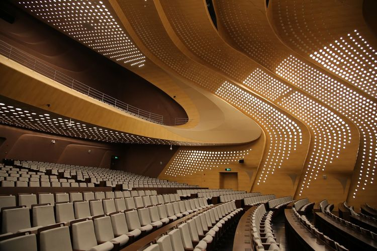 Concert hall interior in China Concert Hall China Concert Photography Concert Hall  Indoors