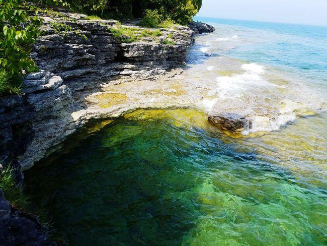 Cave Point, Lake Michigan, Door County, Wisconsin EyeEmNewHere