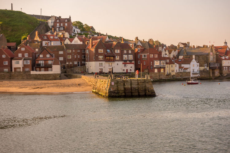 Whitby Whitby Harbour Whitby View Whitby North Yorkshire North Yorkshire Coast North Yorkshire Seaside Town Seaside House Town No People River TOWNSCAPE Outdoors Clear Sky Water Building Exterior Architecture Built Structure Building Sky Waterfront Residential District Day