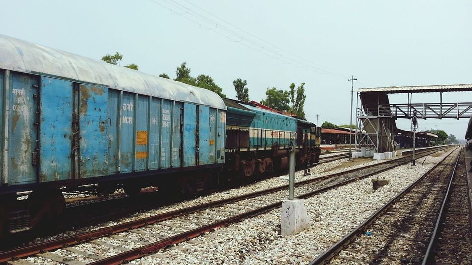Indianrailways Freighttrain Taking Photos
