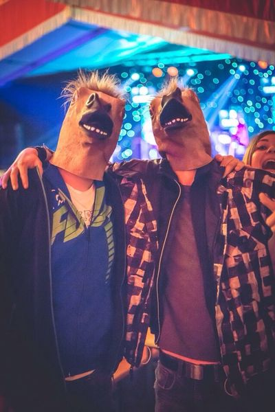 EyeEm Best Shots Party Hanging Out Fun some funny horse-guys at a party ??