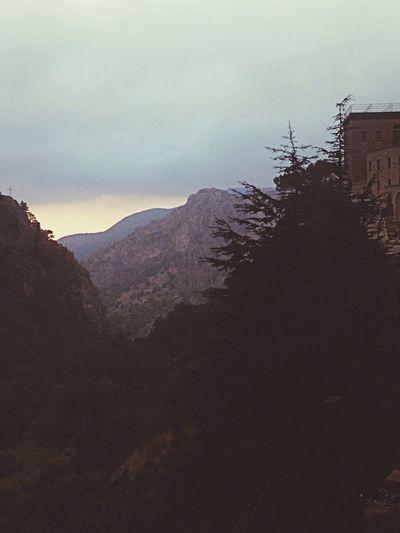 Monestry Mar Antonios Peaceful View Prayer Soul God ❤️ Lebanon