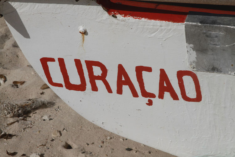Beach Boat Caribbean Communication Curacao Fishing Boat Outdoors Red Ship Name Tourism Vacations Wooden Ship