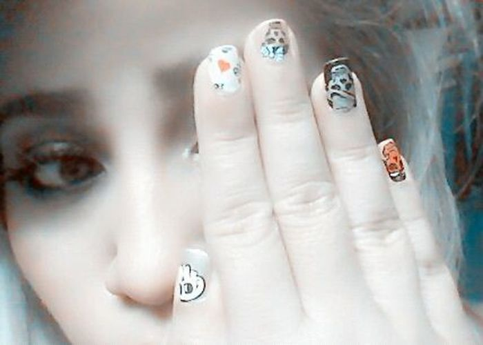 Skulls♥ Skull Nail Art Nailart  Today's Hot Look