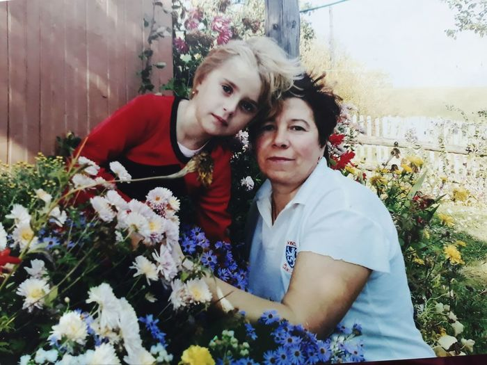 Дитинство )) любима бабуся 😘