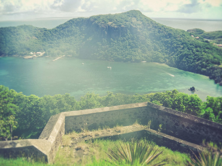 Day Fort Napoleon Guadeloupe Guadeloupe-F.W.I No People Outdoors Seeside