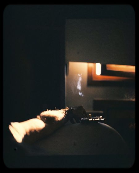 Departed feelings Cigarettes Smoking Sad