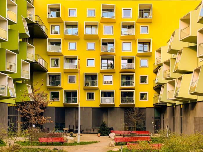 🇩🇰 Wall Arch Balcony Modern Architecture Architecture The Week on EyeEm Architecturelovers Copenhagen Building City Colors Color Colorful Architectural Feature Modern Architecture_collection The Week on EyeEm Editor's Picks Architecture Built Structure Building Exterior Building Residential District City Window House Plant Yellow Street Outdoors Apartment
