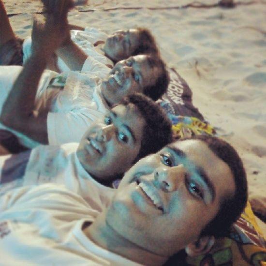 Madruga na praia :)