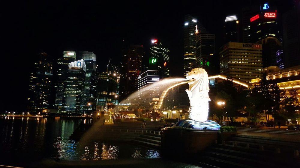 Singapore Marinabay Merlion