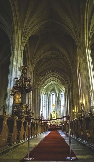 Interior of st michael church