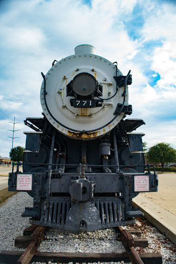 No People Old-fashioned Rail Transportation Railroad Track Steam Train Technology Train - Vehicle Transportation