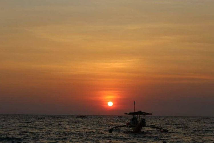 Sunset Sea Horizon Over Water Reflection EyeEm Selects Eyeemphotography Beauty In Nature