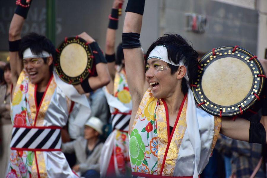 YOSAKOI Soran Festival Dancer Dance Early Summer Sapporo,Hokkaido,Japan Odori Park