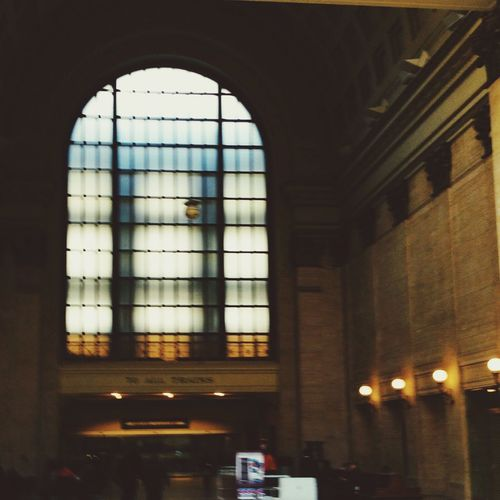 Stained Glass Window at Chicago's Union Station Stained Glass Union Station Chicago Built Structure Architecture Window No People Glass - Material Indoors  Transparent Illuminated Low Angle View