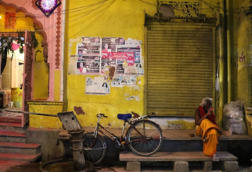 Colour Of Life the colors of walls in old and religious cities of India The Street Photographer - 2017 EyeEm Awards