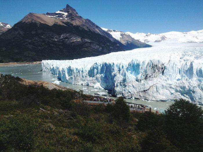 Scenic View Of Perito Moreno Glacier