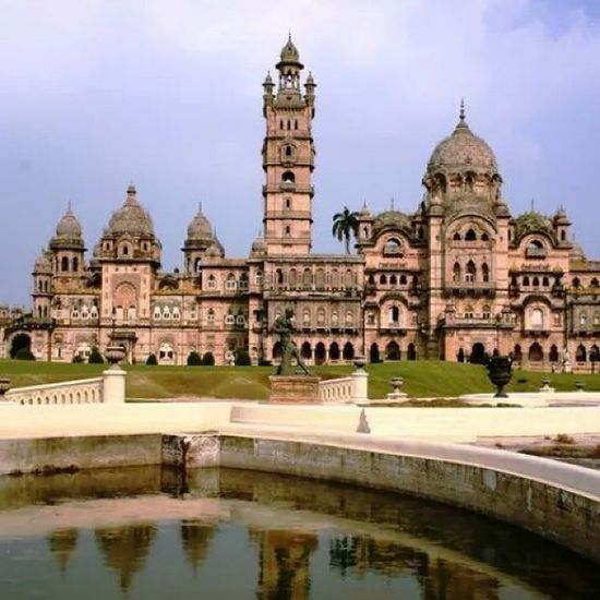 Luxmi Villas Palace is reputed to have been the largest private dwelling built in the nineteenth century. And is said to be four times the size of Buckingham palace. Indianhistory Indianarchitecture Incredibleindia India wanderlust travelbug travel gujarat gujarattourism vadodara baroda