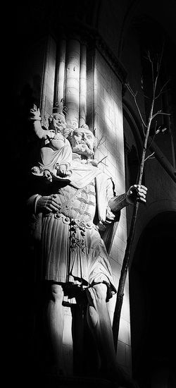 Apostle Apostles Art Black & White Blackandwhite Bw Church Creativity Darkness And Light Light Mystery Münster Picoftheday Sculpture Statue