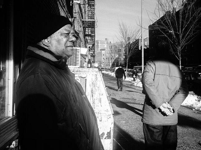 the C O R N E R NYC Streetphotography Blackandwhite Streetphoto_bw