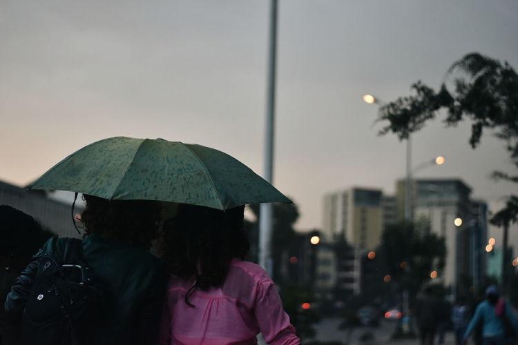 Rain or shine -