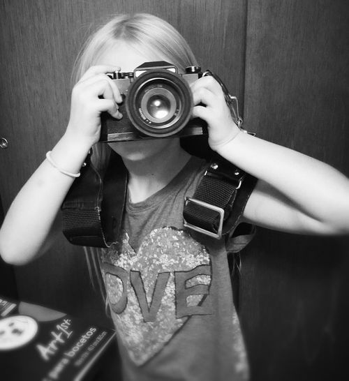 Picking up my old 35mm that belonged to my father before me. It brings tears to my eyes. Camera - Photographic Equipment Streamzoofamily B&W Portrait Blackandwhite My Beautiful Daughter Family Mylittleboo Black And White Howtodad Dadlife Fatherhood Moments Fatherhood Moments By September 8 2016