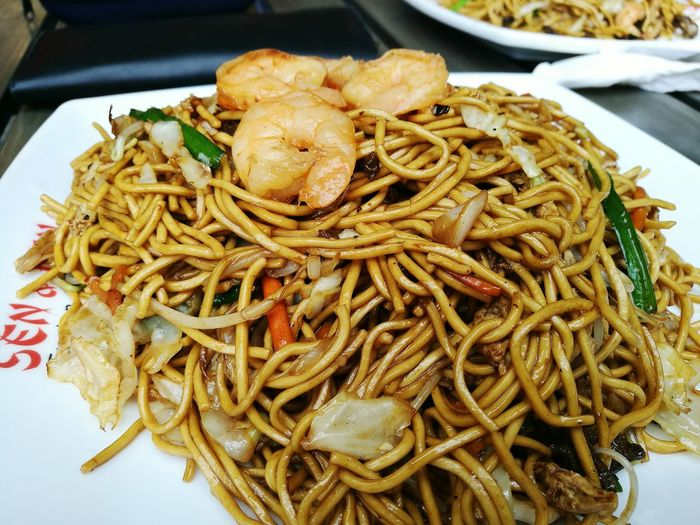 Craving of the day: fried noodles Food Ready-to-eat Meal Chinese Food Minefrite Mauritius