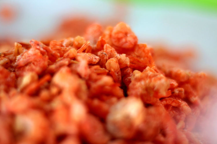 Close-Up Of Dried Shrimp