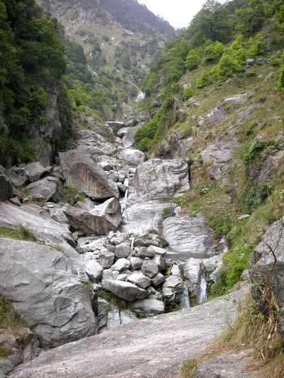 Nature Mountain Outdoors Rock - Object Tranquility Beauty In Nature Physical Geography Tranquil Scene Scenics Waterfalls💦 Dharamshala , Himachal Pradesh, India