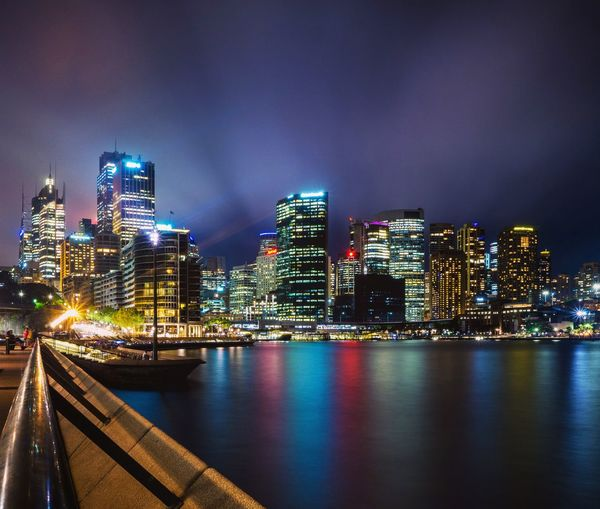 EyeEm Selects City Cityscape Urban Skyline Illuminated Modern Skyscraper Downtown District City Life Bridge - Man Made Structure Sky