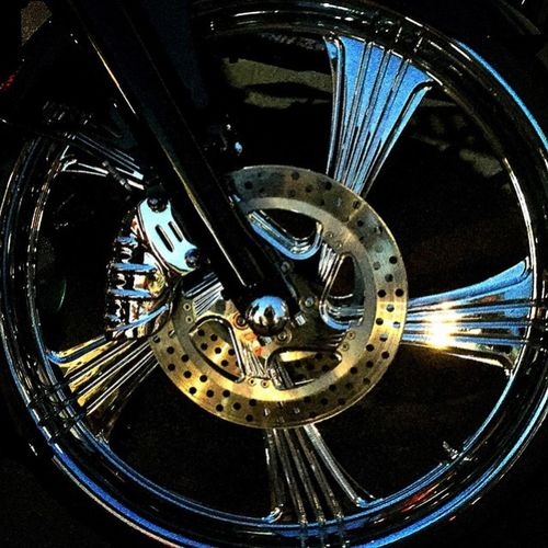 Motorcycle Chrome Motorrad Rim Chrom Harleydays Felge Enlight