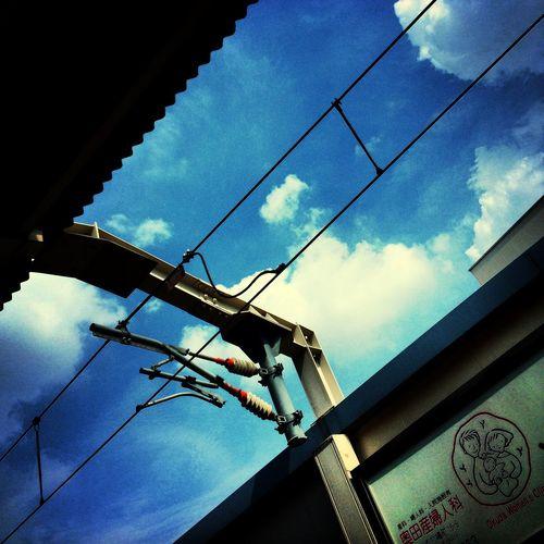 夏戻って来なくて良いのやけど(^^;; Sky OSAKA Station Japan