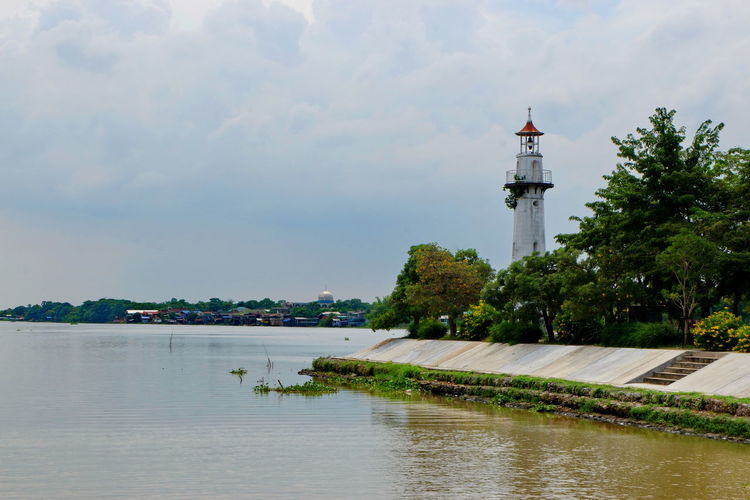 Water River Cloud - Sky Nature Waterfront Lighthouse Travel Outdoors