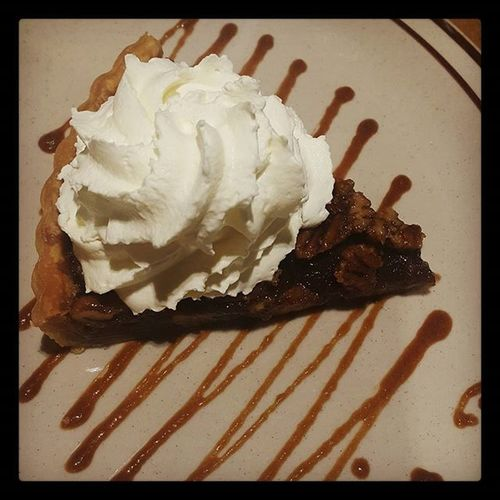Mmm...pie... my favorite excuse for whipped cream. 🍴 Pecanpie Dessert Sweettooth