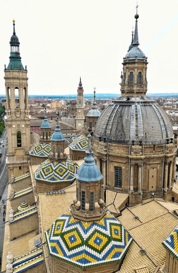 Zaragoza cathedral.Spain Dome Outdoors Cityscape From My Point Of View SPAIN Zaragoza Photography EyeEm Gallery EyeEm Best Edits Travel Photography Spagna EyeEm Best Shots EyeEmBestPics EyeEm Selects Tourist Roof Tops Roof Structure Dome Cathedral Zaragoza, Spain Zaragoza City Spagna Spagnazaragoza Day Architecture Investing In Quality Of Life Breathing Space EyeEmNewHere The Week On EyeEm Your Ticket To Europe