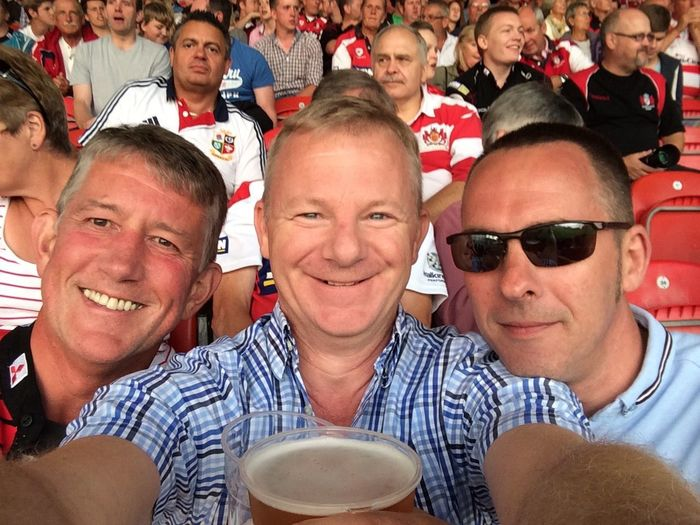 7sSelfies awesomeness @ the other home of rugby.
