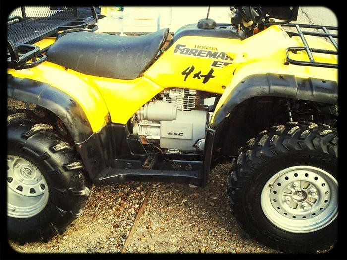 #My new toyy #Ready to get dirty #Fourwheeleer Mudding Time<3