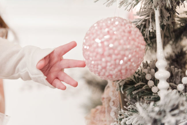 Baby Baby Hand Celebration Childhood Christmas Christmas Decoration Christmas Ornament Christmas Tree Close-up Day Holding Human Hand Nature