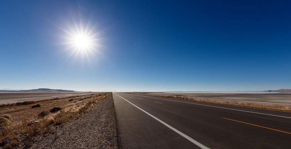 """Antelope Island Road"" The Great Outdoors - 2015 EyeEm Awards USA Utah Antelopeisland The Traveler - 2015 EyeEm Awards"