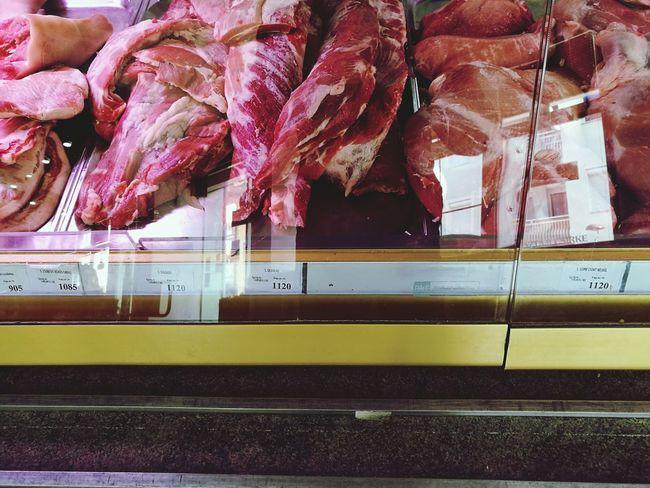 Meats Pork Pork Meat Porkchops Meat Shop Hungary Zalaegerszeg Food Indoors